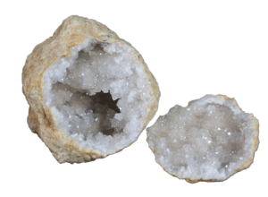geode created by massive earth changes