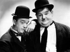 Laurel and Hardy Dance to Santana