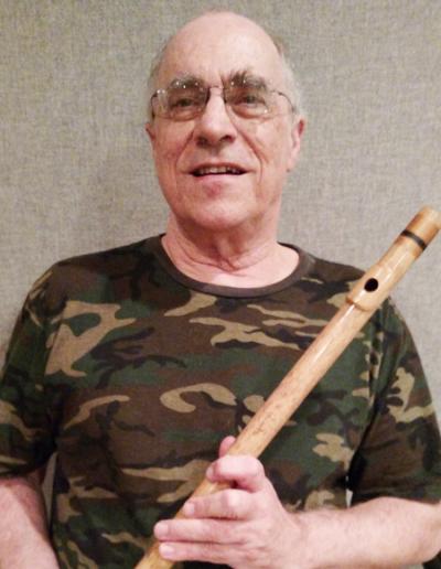 Bruce OBrien: Bansuri flute